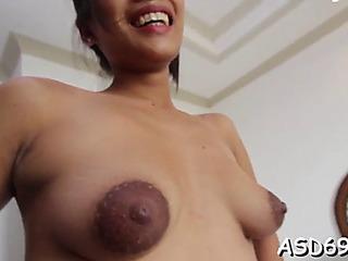 Fucking a thai bitch so hard