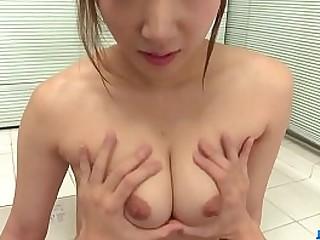 Hot japan girl Riko Satsuki fuck at home
